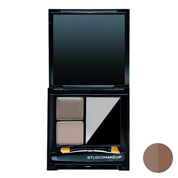 سایه ابرو استودیو میکاپ مدل Perfecting Kit شماره 01