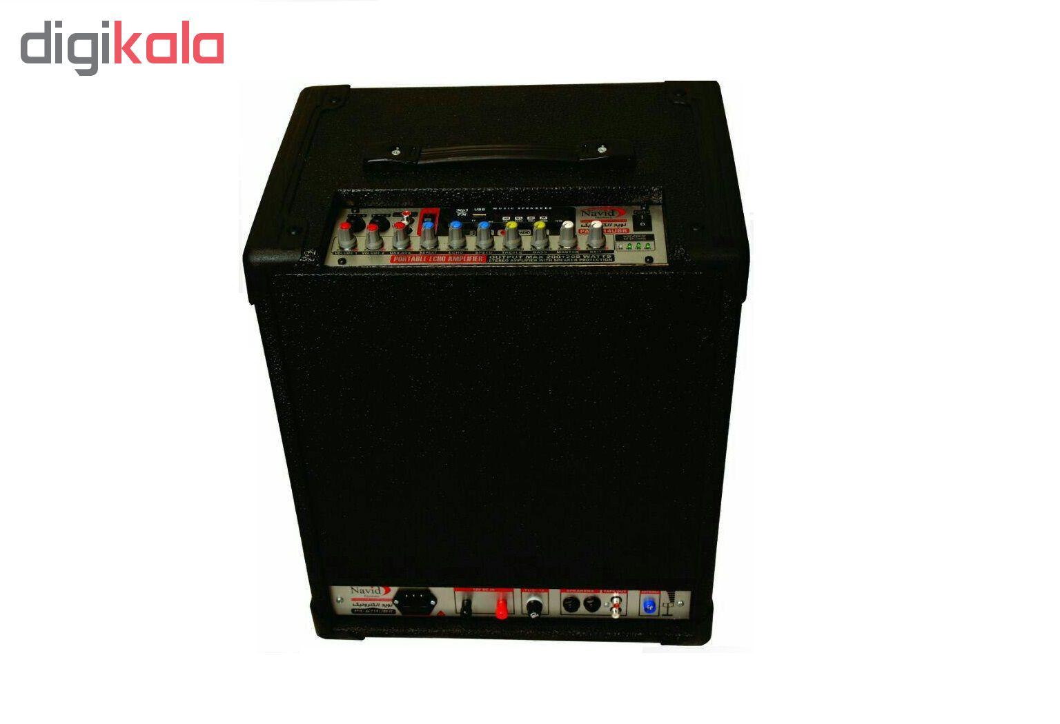اکو آمپلی فایر پرتابل نوید الکترونیک مدل PA-714BM