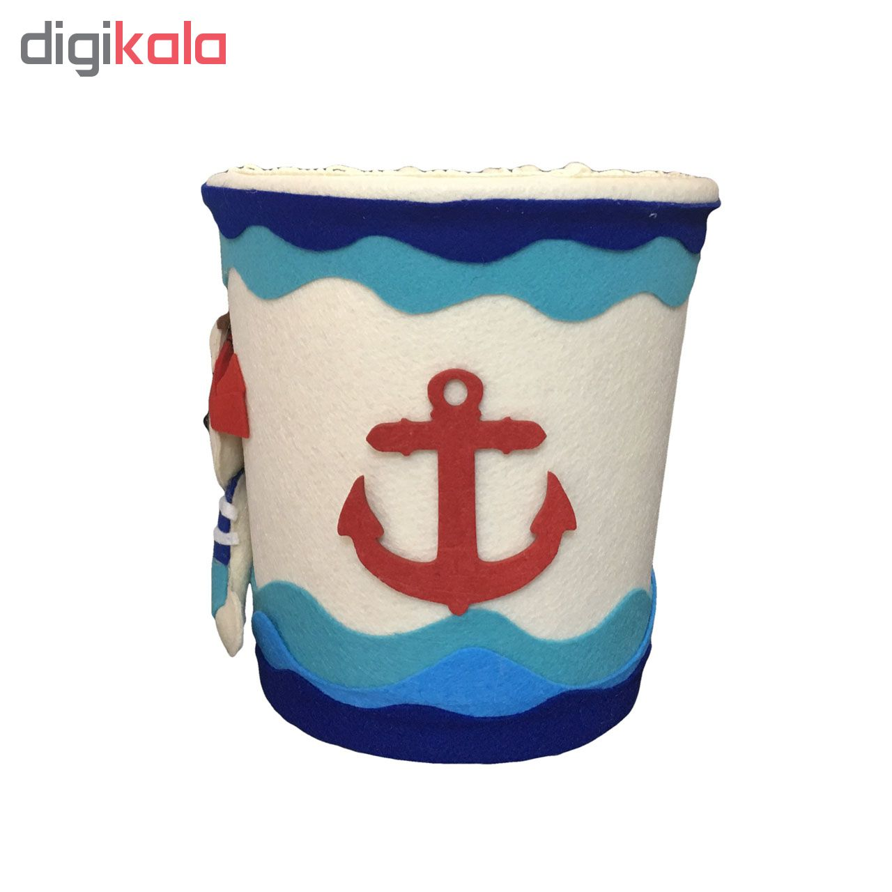 ست سطل و جادستمال کاغذی اتاق کودک طرح دزد دریایی