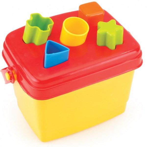بازی آموزشی دولو مدل جعبه جورچین اشکال کد 5098