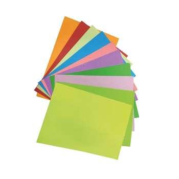 کاغذ رنگی مدلA4-120  سایز A4 بسته 120 عددی
