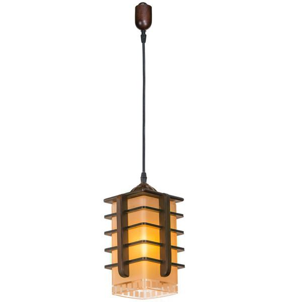 چراغ آویز دارکار مدل منچستر 1 شعله کد 119