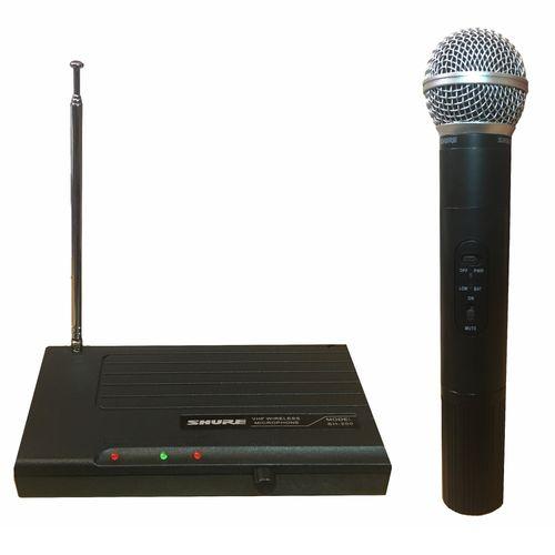 میکروفون بی سیم شور مدل SH-200