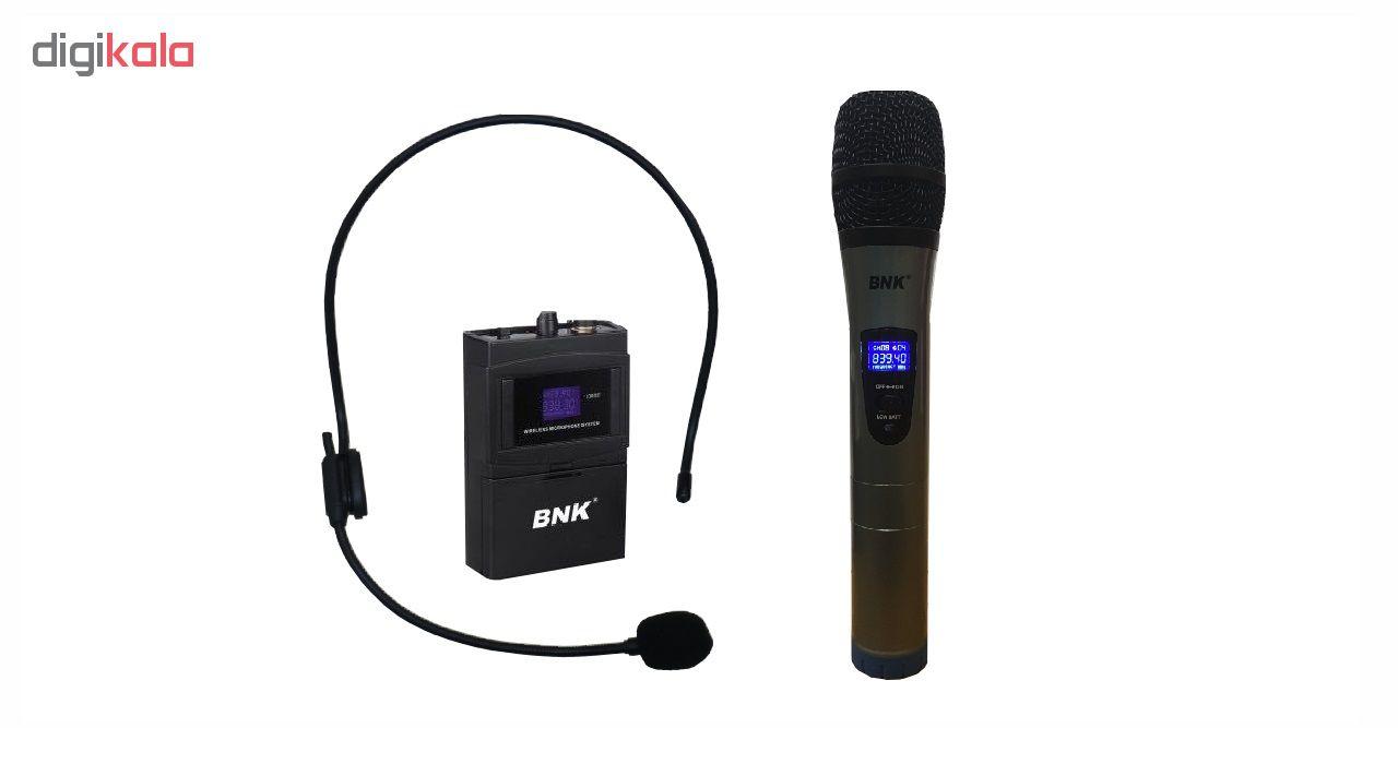 میکروفن بی سیم بی ان کا مدل BK9E main 1 2