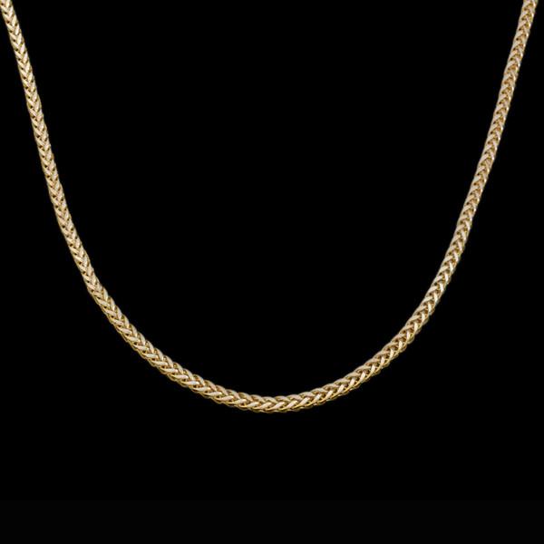 زنجیر طلا 18 عیار زنانه طلای مستجابی مدل میرو کد M01