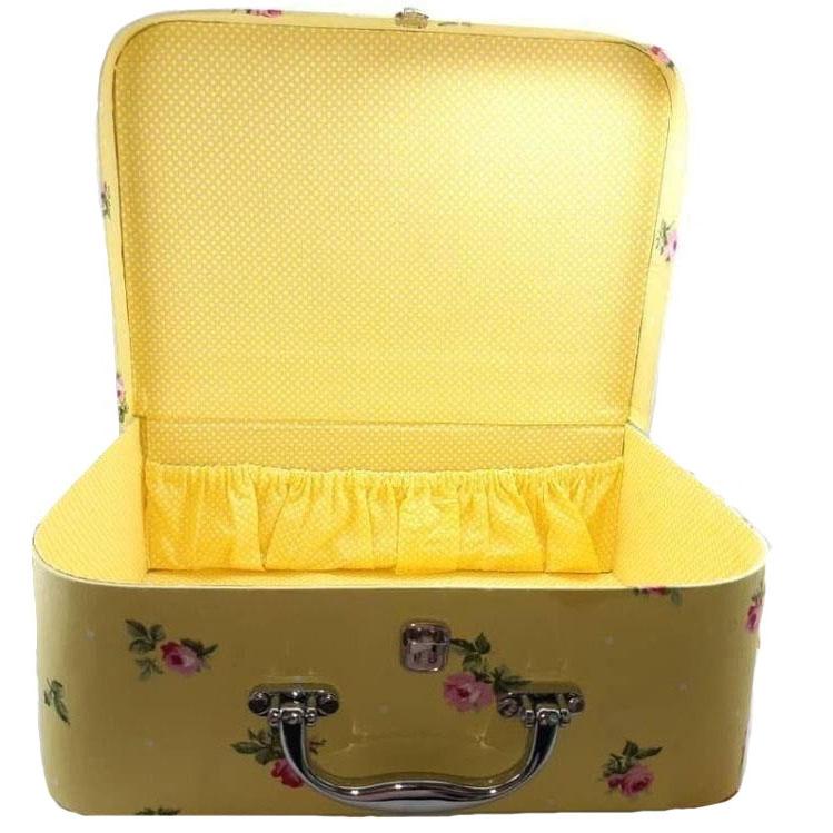 خرید                      جعبه هدیه مدل چمدانی کد  001 مجموعه 3 عددی