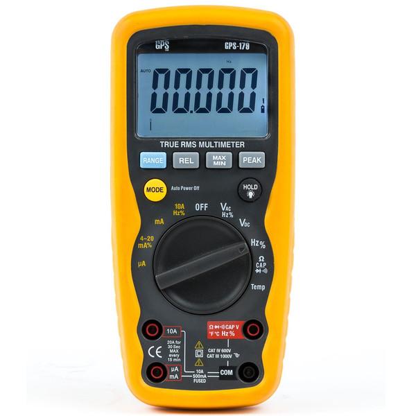 مولتی متر جی پی اس لیمیتد مدل GPS-179 پرتابل 4.5 دیجیت IP67