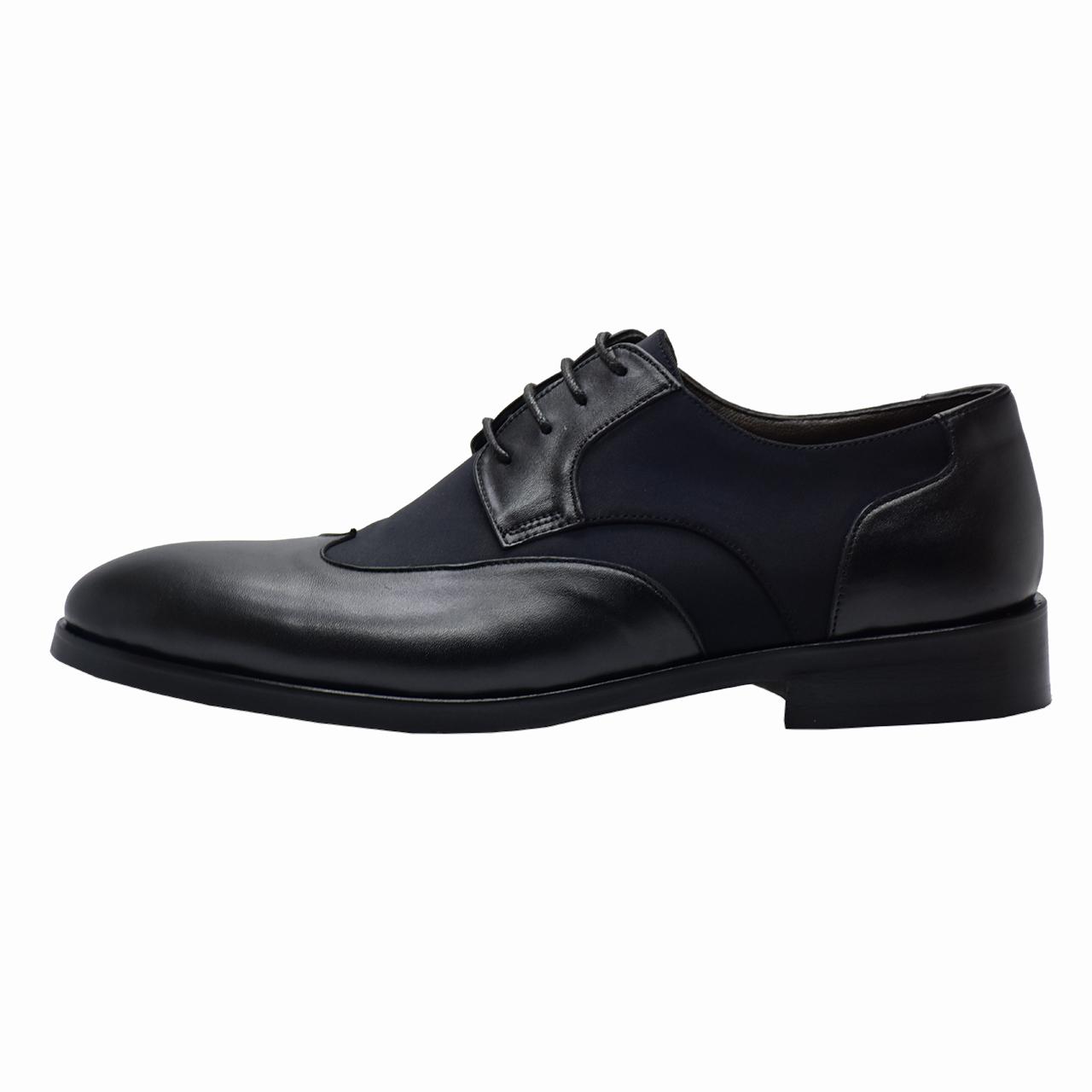 کفش مردانه رسا چرم کد 213