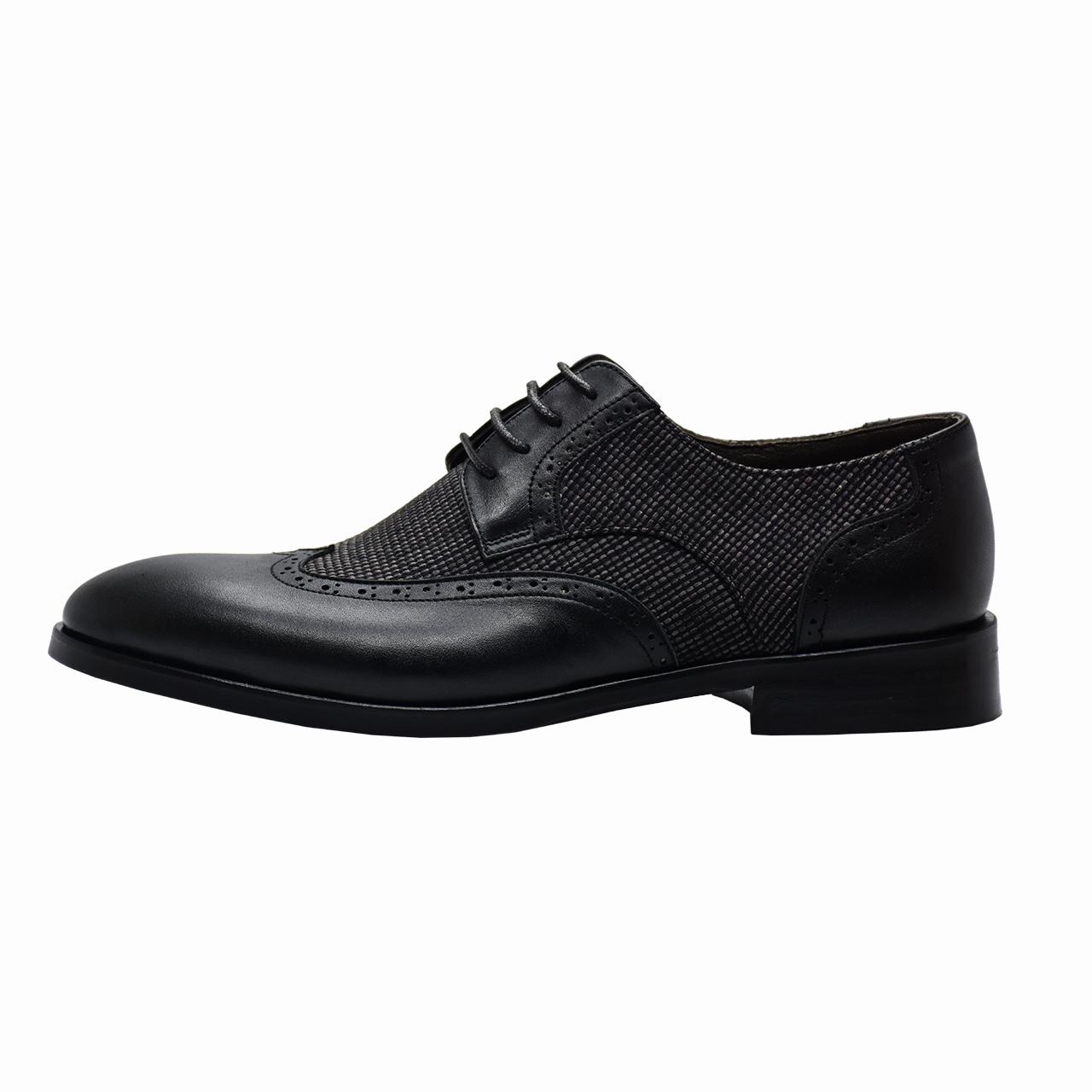 کفش مردانه رسا چرم کد 214