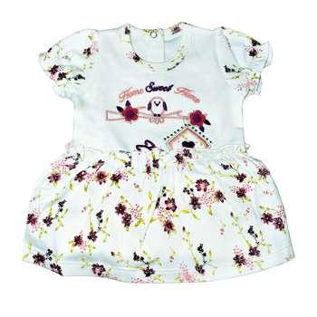 پیراهن نوزادی دخترانه طرح فاخته