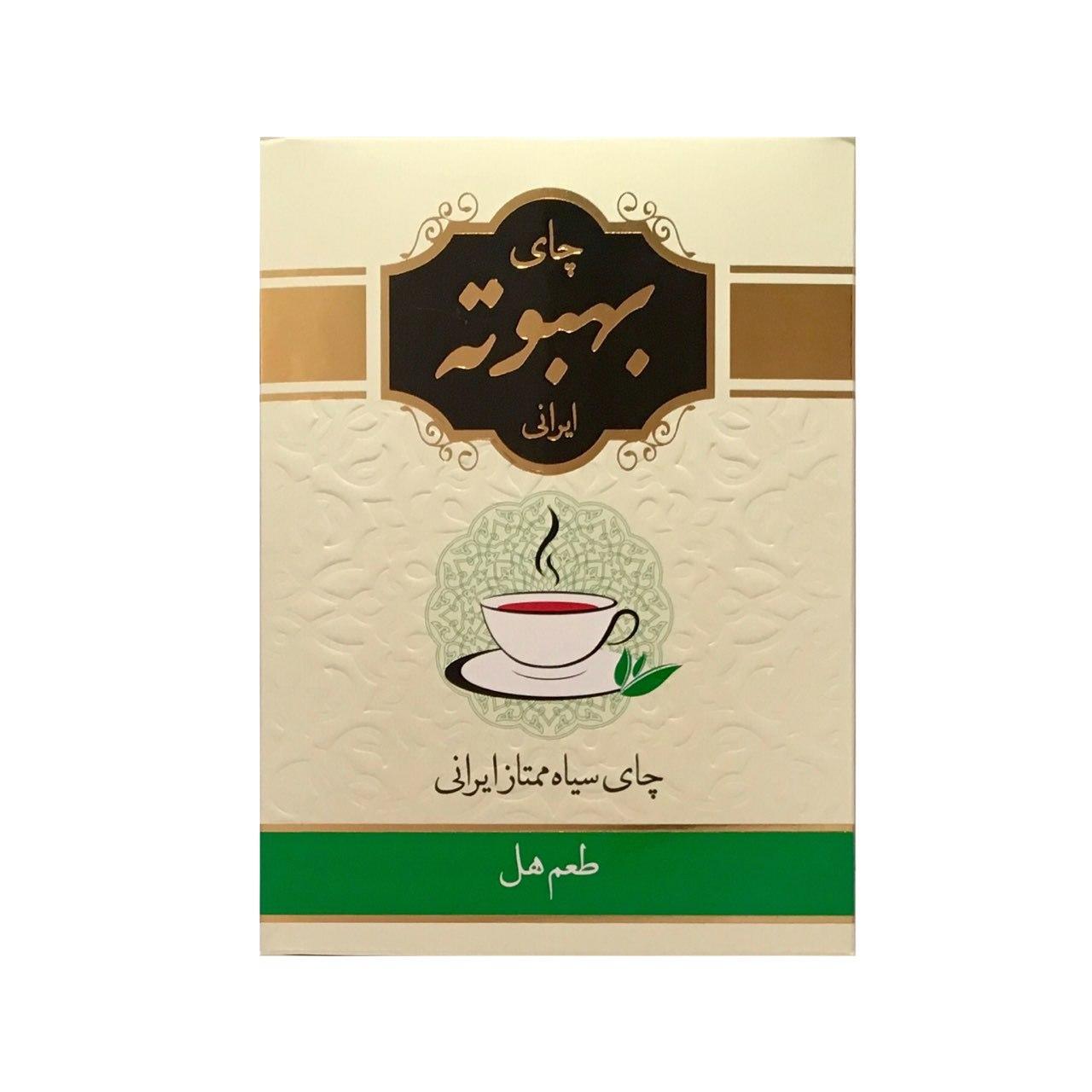 چای سیاه بهبوته با طعم هل مقدار ۴۰۰ گرم