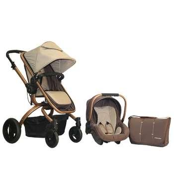 ست کالسکه و کریر اسپرینگ مدل Bsun | Spring Bsun stroller set