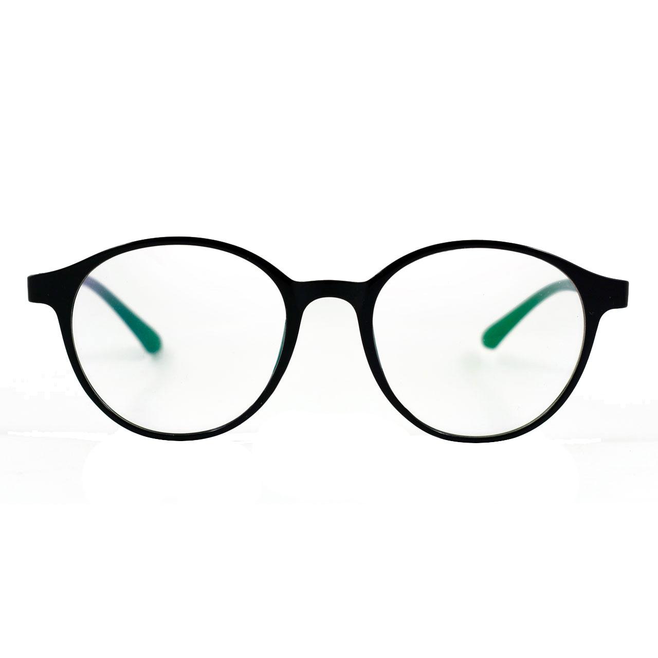 قیمت فریم عینک طبی مدل Tr90 Round Sharp Black