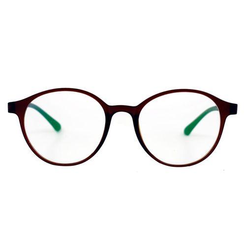 فریم عینک طبی مدل Tr90 Round Brown Matte