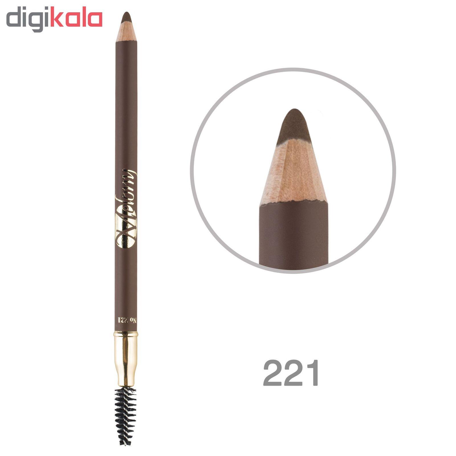 مداد ابرو ملونی شماره 221 main 1 1