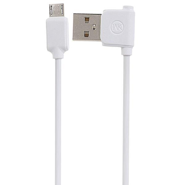 کابل تبدیل USB به microUSB دبلیو کی مدل Junzi به طول 1 متر