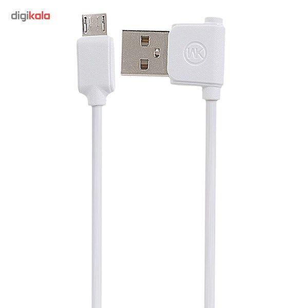 کابل تبدیل USB به microUSB دبلیو کی مدل Junzi به طول 1 متر main 1 1