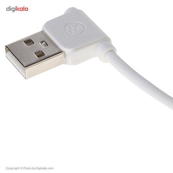 کابل تبدیل USB به microUSB دبلیو کی مدل Junzi به طول 1 متر main 1 2