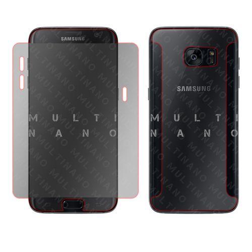 محافظ صفحه نمایش و پشت گوشی مولتی نانو مدل تی پی یو 5 دی مناسب برای گوشی موبایل سامسونگ گلکسی اس 7 اج