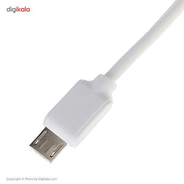 کابل تبدیل USB به microUSB دبلیو کی مدل Junzi به طول 1 متر main 1 3