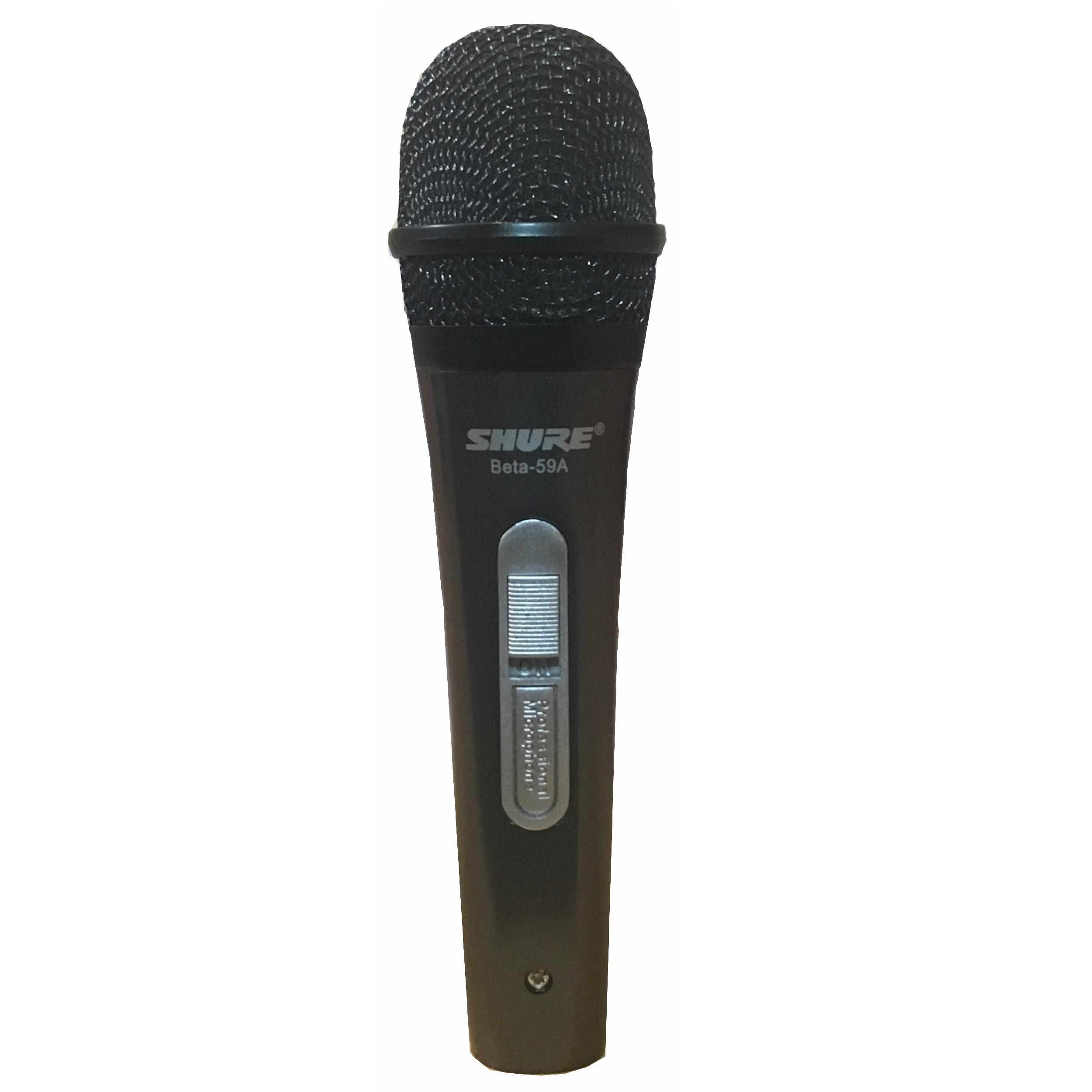 خرید                     میکروفن با سیم شور بتا 59A