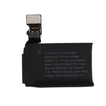 باتری مدل A1760 با ظرفیت 273mAh مناسب برای ساعت هوشمند اپل واچ سری 2 سایز 38 میلی متری