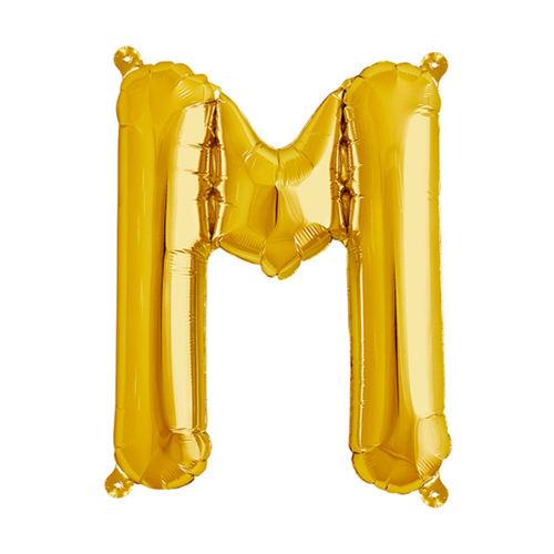 بادکنک فویلی سورتک طرح حروف انگلیسی مدل M