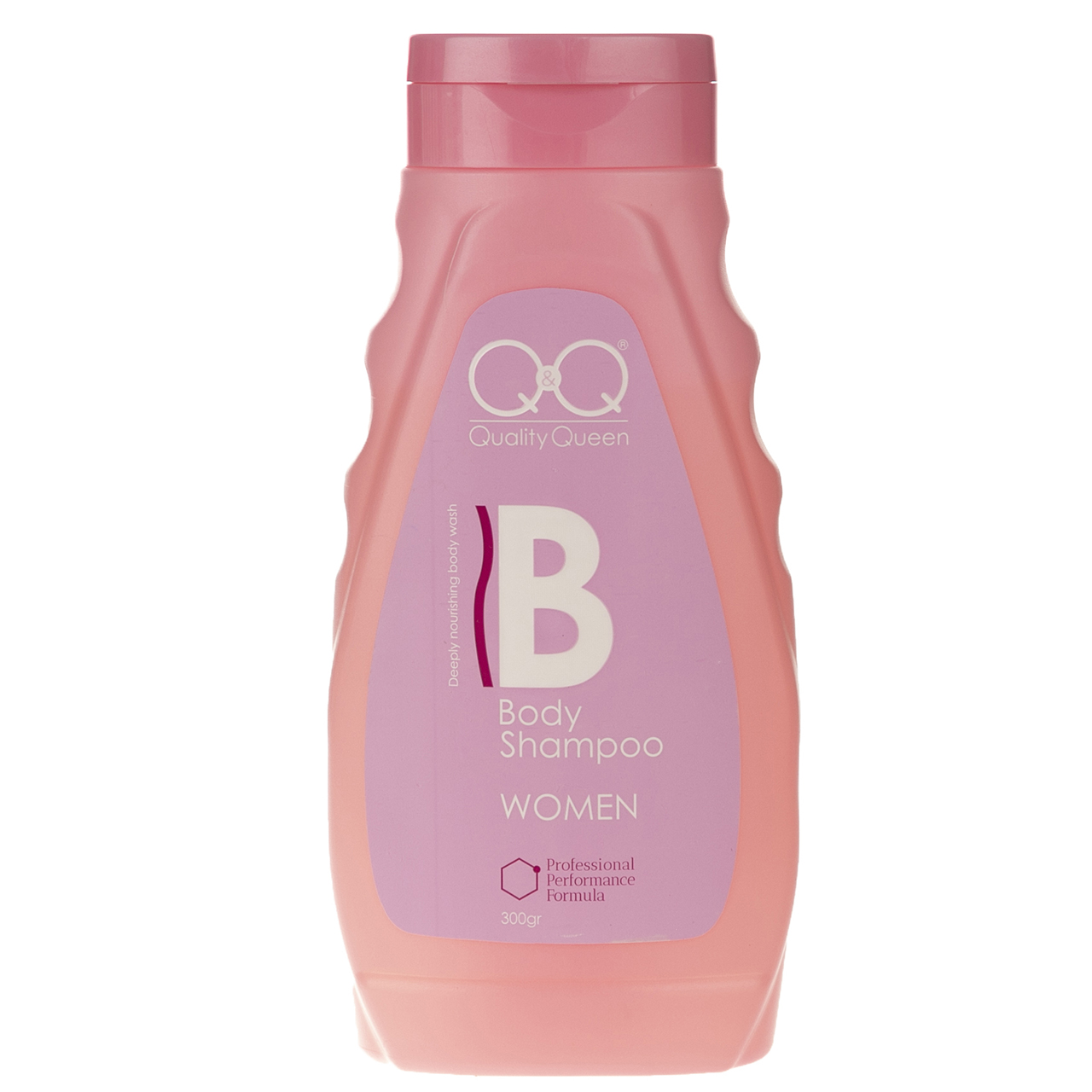 شامپو بدن کیو اند کیو مدل Quality Queen Pink حجم 300 میلی لیتر