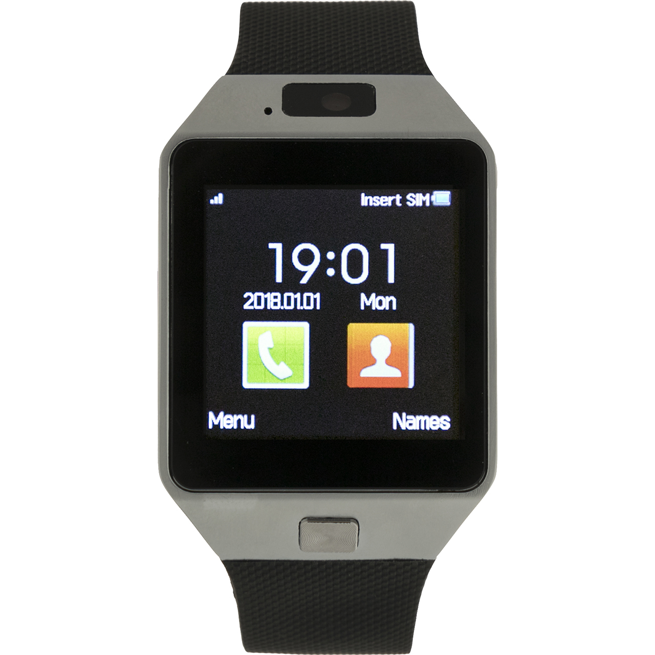 ساعت هوشمند تی سریز مدل DZ09 الف 001