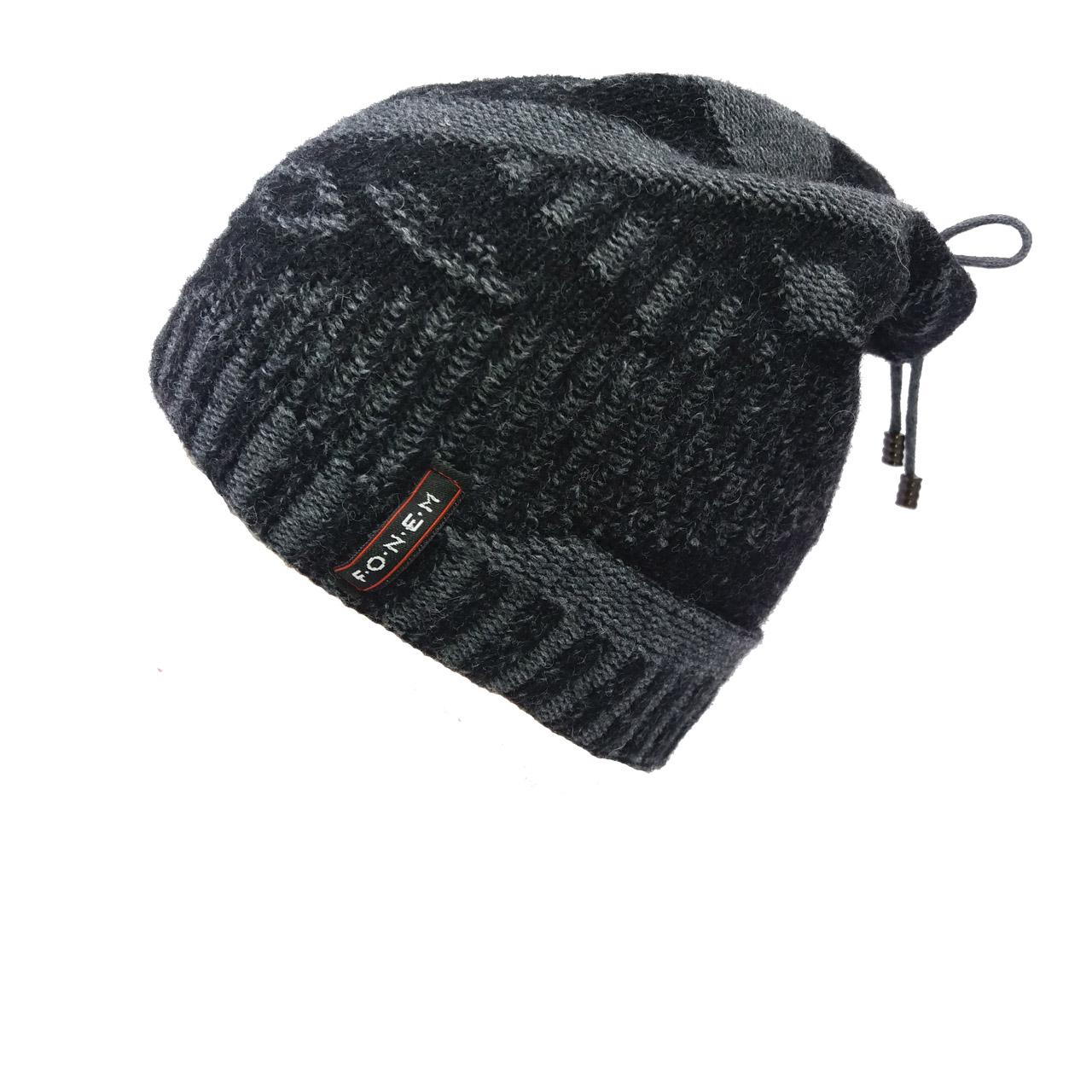 کلاه بافتنی مردانه فونم مدل 1262