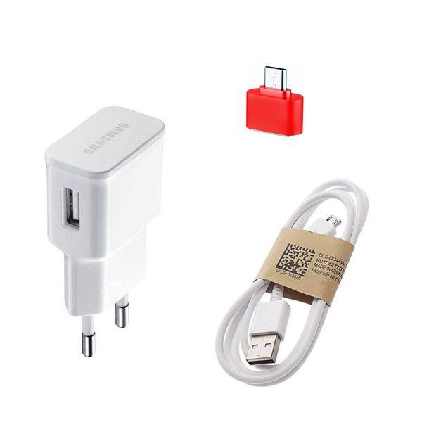 شارژ دیواری مدلep-u90 به همراه کابل micro USB ومبدل otg