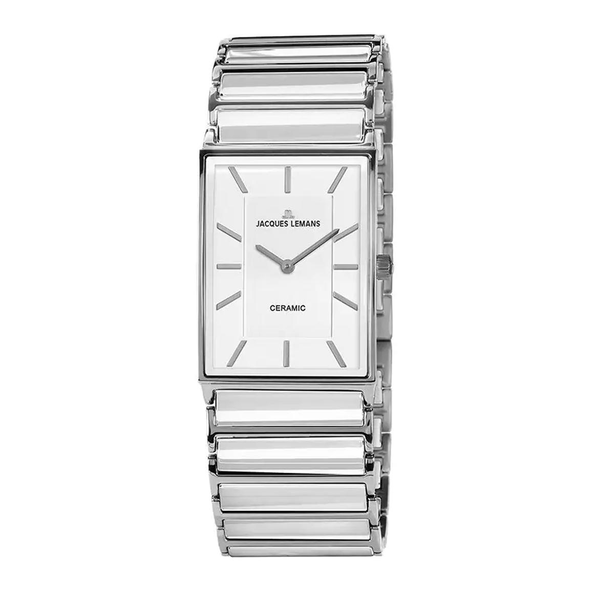 ساعت مچی عقربه ای زنانه ژاک لمن مدل 1-1651E
