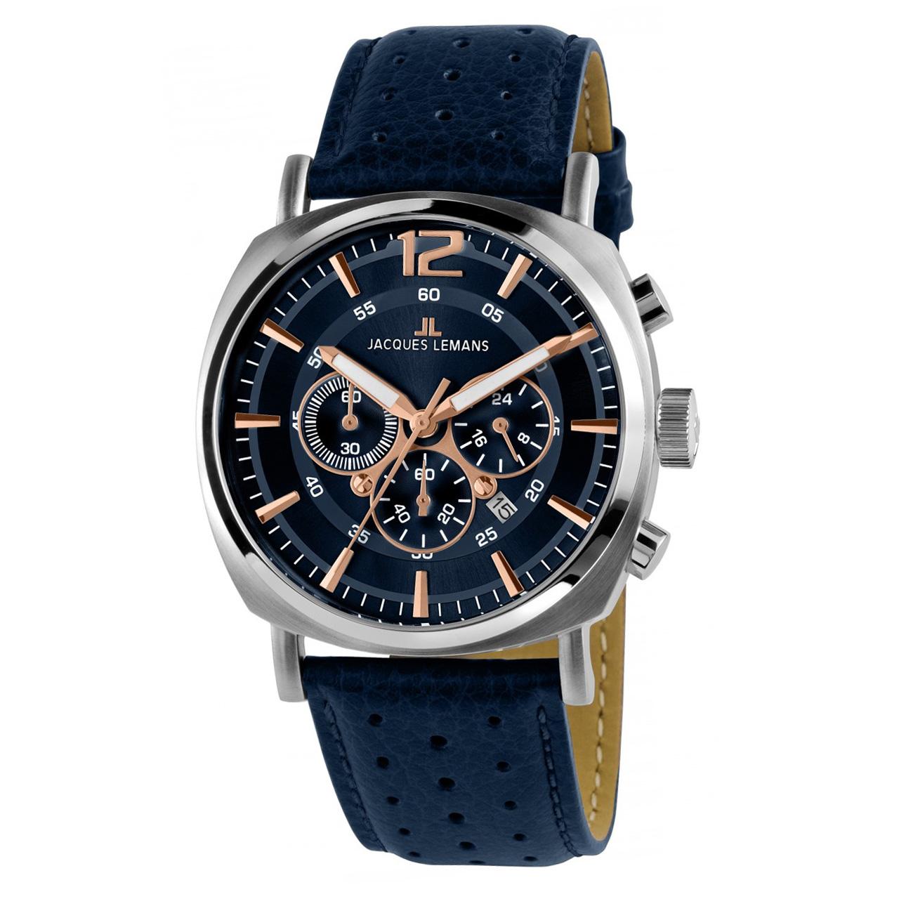 ساعت مچی عقربه ای مردانه ژاک لمن مدل 1-1645I