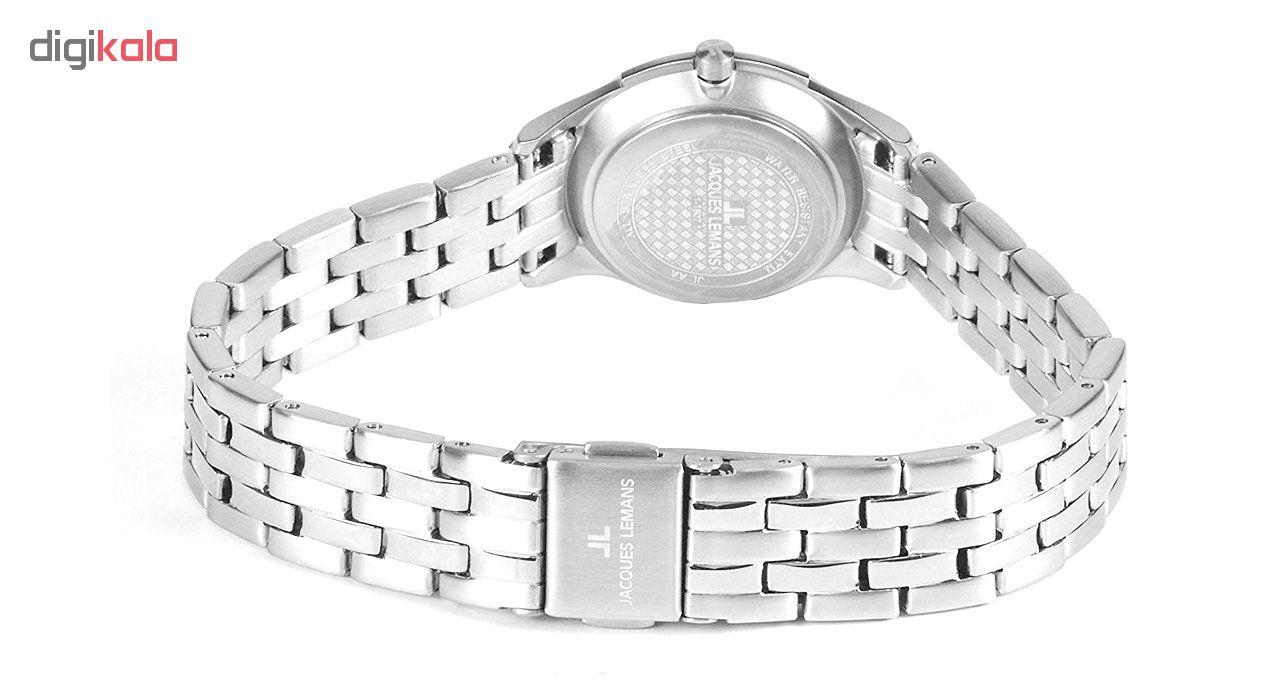 کد تخفیف                                      ساعت مچی عقربه ای زنانه ژاک لمن مدل 1-1807.1Z