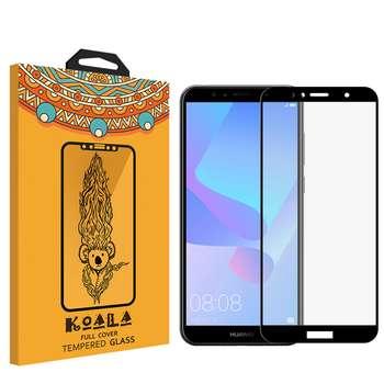محافظ صفحه نمایش Full Glue کوالا مدل  616 مناسب برای گوشی موبایل هواوی Y6 PRIME 2018