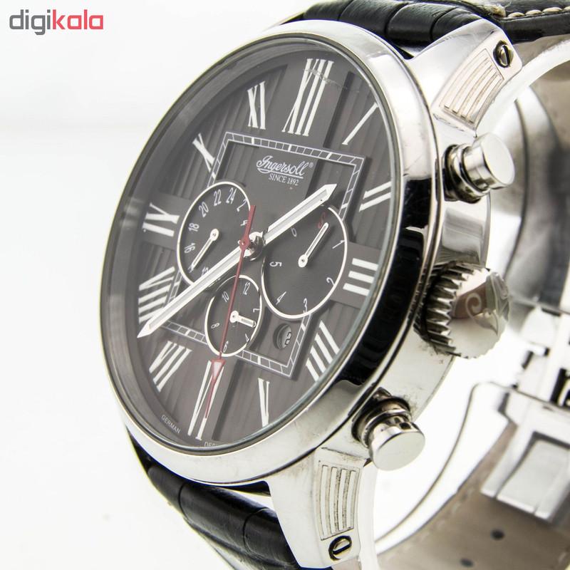 ساعت مچی عقربه ای مردانه اینگرسل مدل IN1409BK