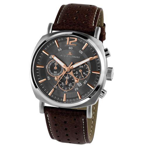 ساعت مچی عقربه ای مردانه ژاک لمن مدل 1-1645H