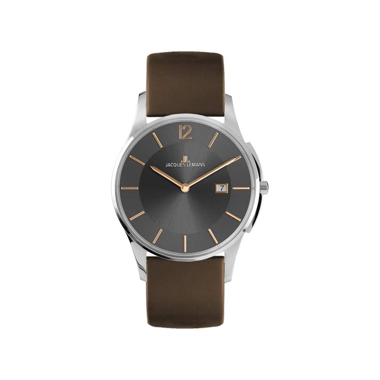 ساعت مچی عقربه ای مردانه ژاک لمن مدل 1-1850E