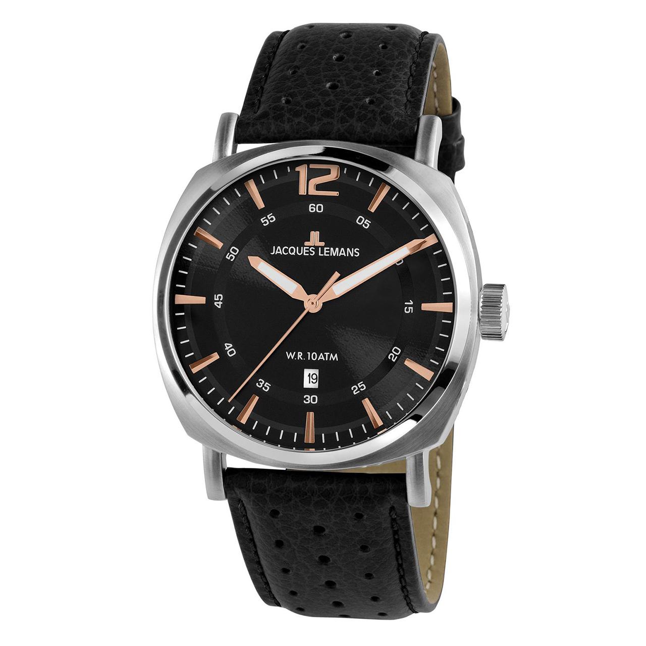 ساعت مچی عقربه ای مردانه ژاک لمن مدل 1-1943A