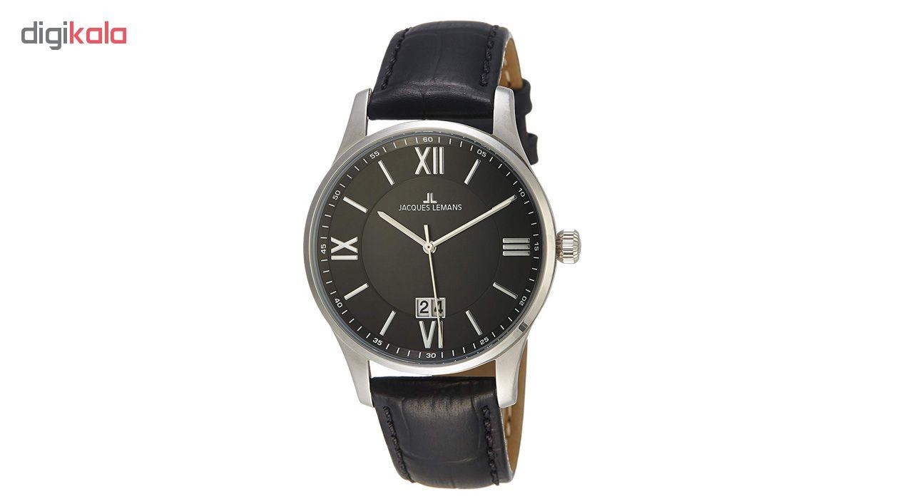 کد تخفیف                                      ساعت مچی عقربه ای مردانه ژاک لمن مدل 1-1845A