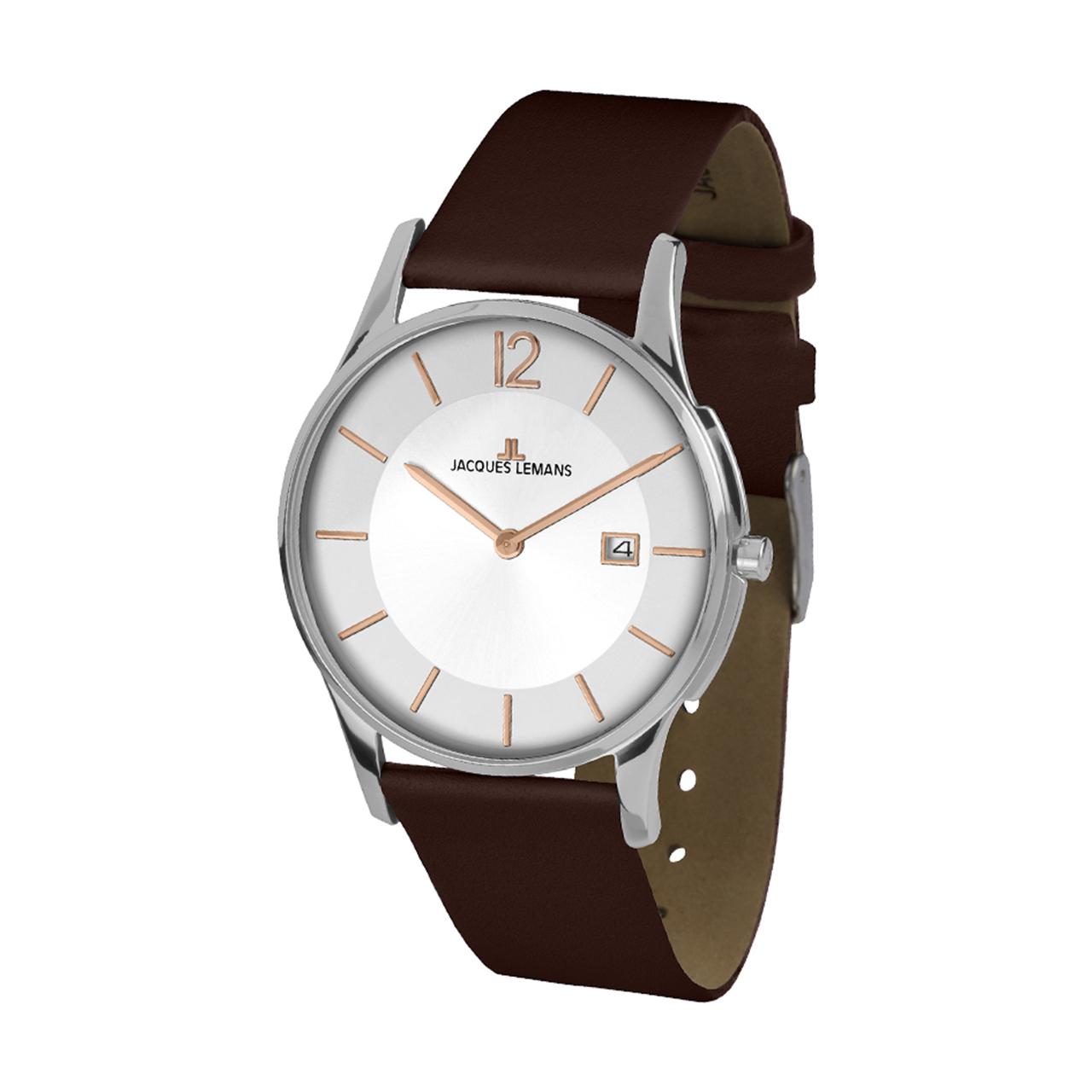 ساعت مچی عقربه ای مردانه ژاک لمن مدل 1-1850F