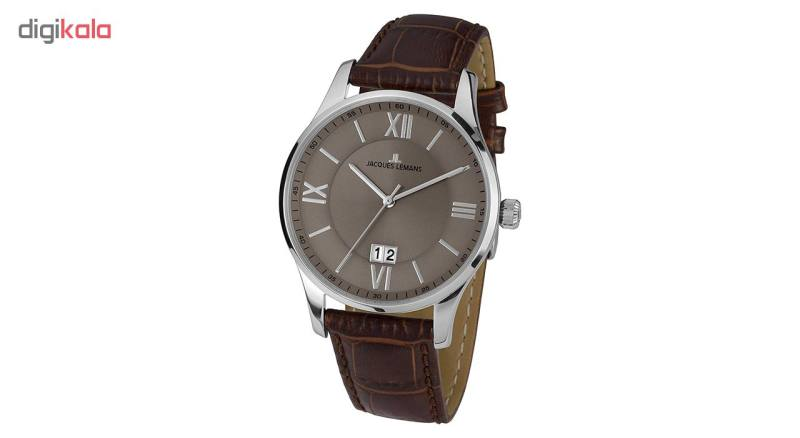 ساعت مچی عقربه ای مردانه ژاک لمن مدل 1-1845D