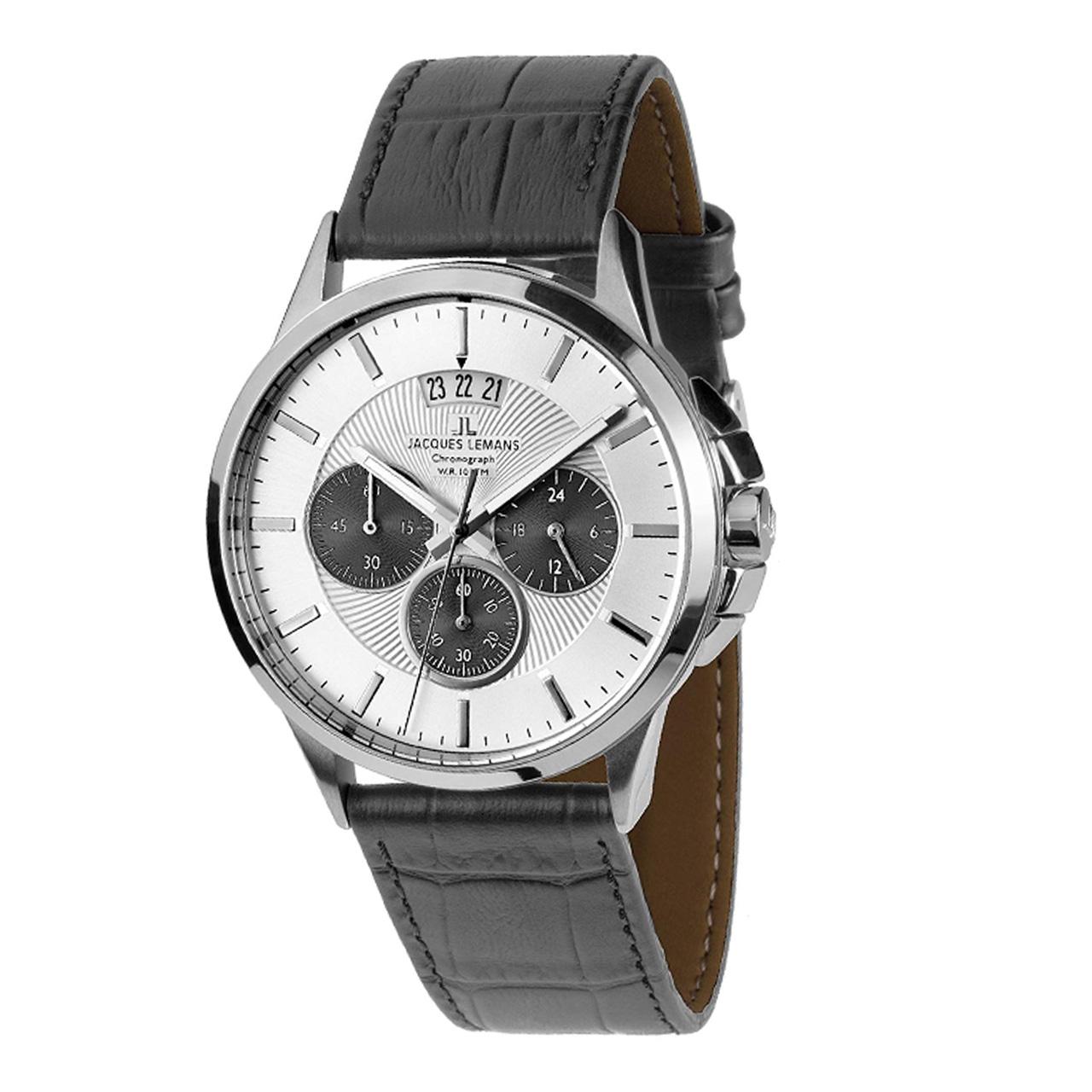 ساعت مچی عقربه ای مردانه ژاک لمن مدل 1-1542L