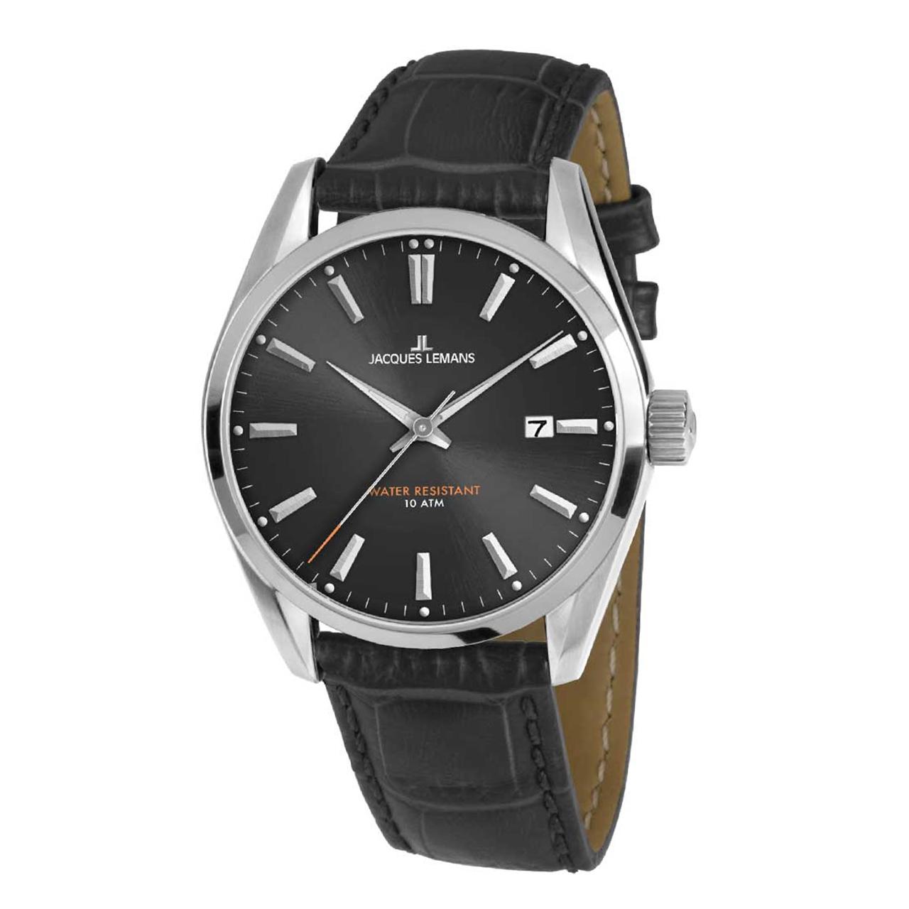 ساعت مچی عقربه ای ژاک لمن مدل 1-1859A