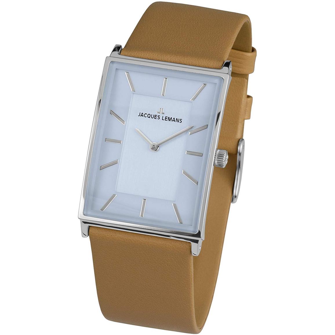 ساعت مچی عقربه ای ژاک لمن مدل 1-1604E