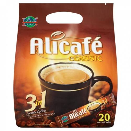 قهوه فوری علی کافه مدل classic بسته 20 عددی