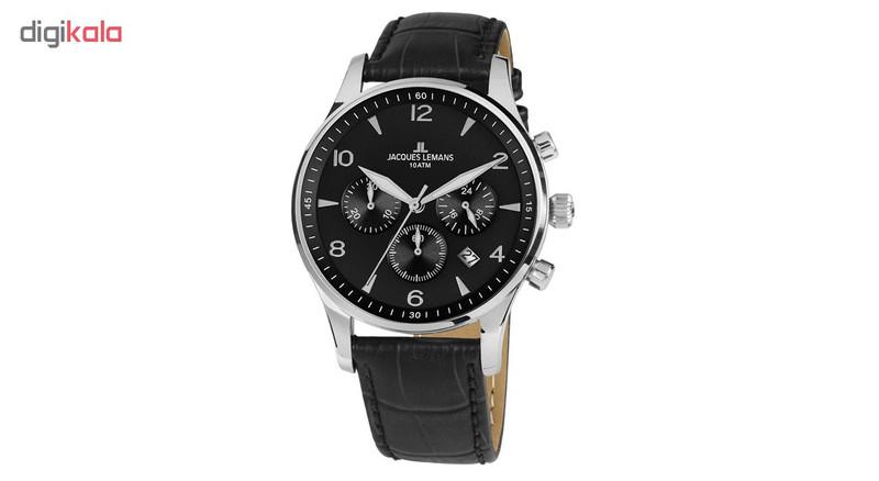 ساعت مچی عقربه ای مردانه ژاک لمن مدل 1-1654ZA