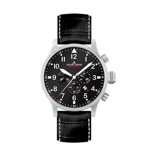 ساعت مچی عقربه ای مردانه ژاک لمن مدل 1-1914A