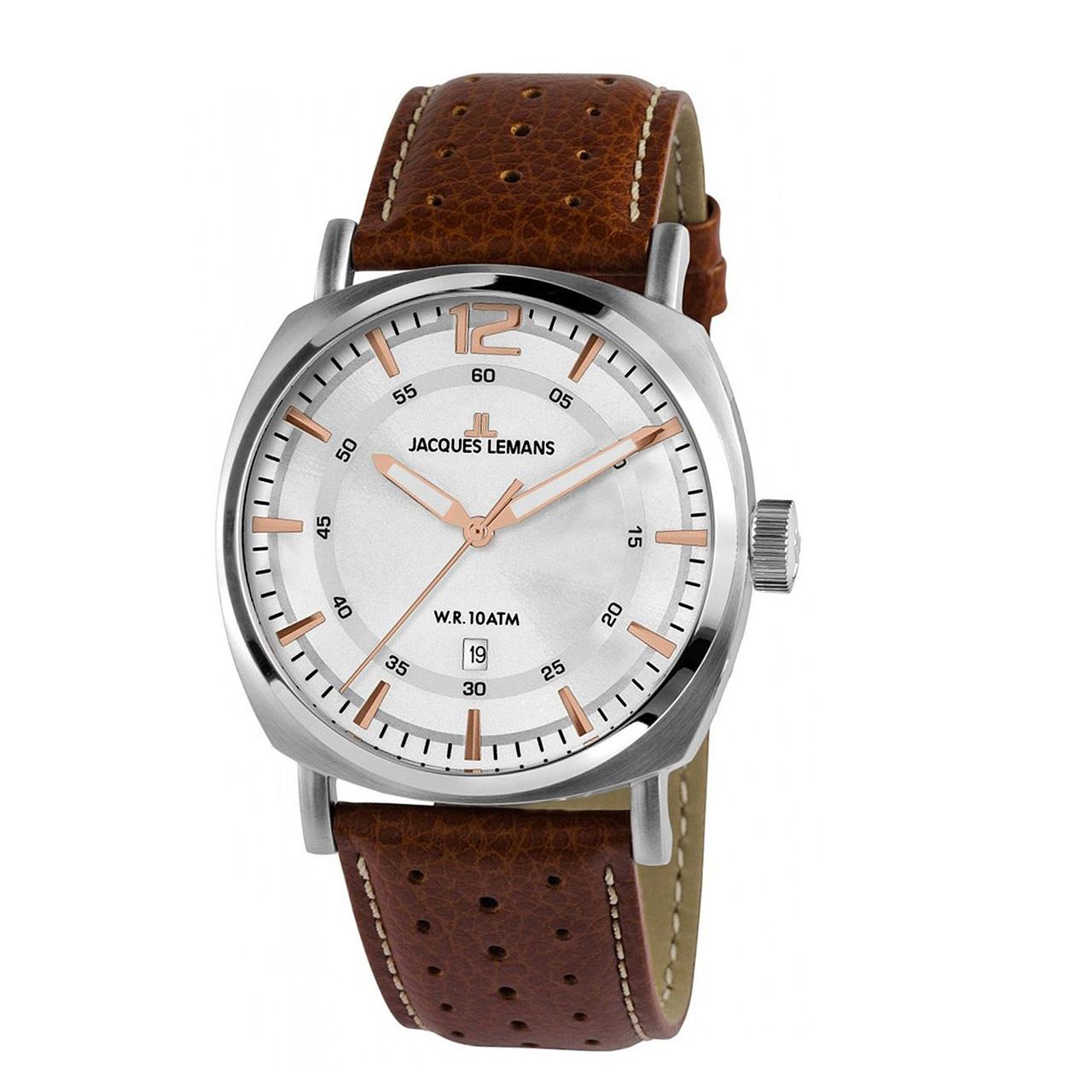 ساعت مچی عقربه ای مردانه ژاک لمن مدل 1-1943B