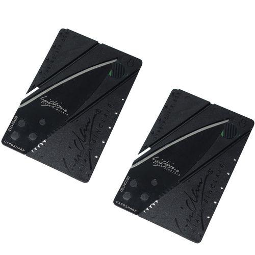 چاقوی سفری سینکلر مدل CARD SHARP بسته 2 عددی
